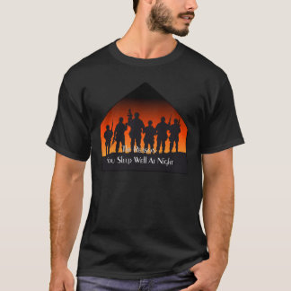 Sleep Well Remembrance Day T-Shirts