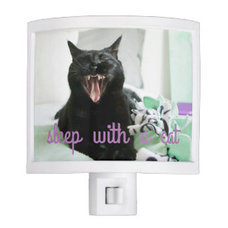 Sleep with a cat nightlight night light