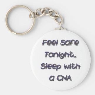 sleep with a CNA Keychain