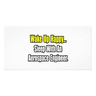 Sleep With An Aerospace Engineer Photo Card