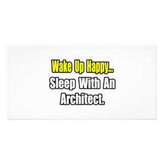 Sleep With an Architect Customized Photo Card