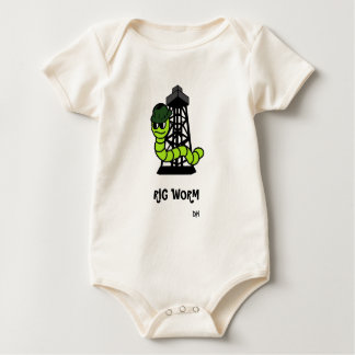Sleeper Rig Worm Baby Bodysuit