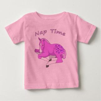 sleepin foal on infant sleep shirt
