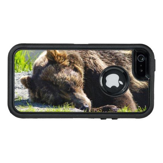 Sleeping Alaska Grizzly Bear OtterBox iPhone 5/5s/SE Case
