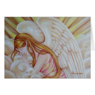 Sleeping Angel Card