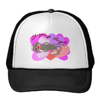 Sleeping Angel Sock Monkey Trucker Hat
