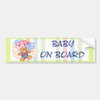SLEEPING BABY CUTE Bumper Sticker