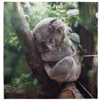 Sleeping Baby Koala Napkin