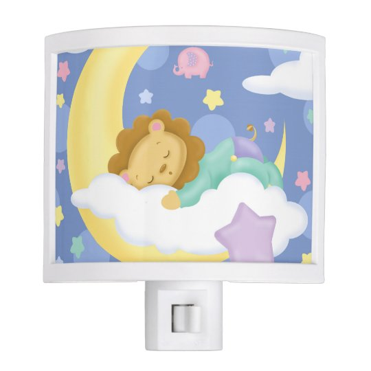 Sleeping Baby Night Light