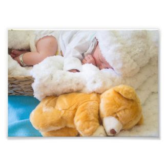 Sleeping Baby Photo Print