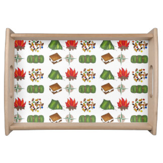 Sleeping Bag Tent S'mores Camp Fire Camping Tray