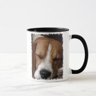 Sleeping Beagle Coffee Mug