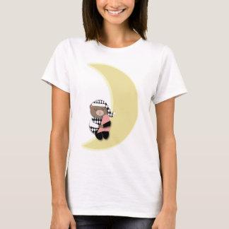 Sleeping Bear Crescent Moon T-Shirt