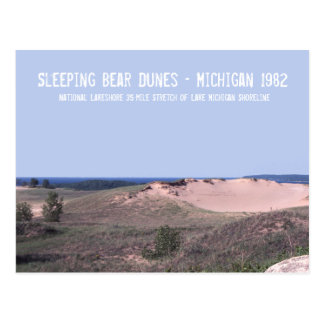 Sleeping Bear Dunes Michigan Postcard