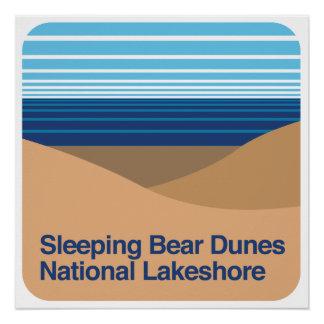 Sleeping Bear Dunes National Lakeshore Perfect Poster