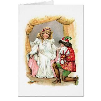Sleeping Beauty and Prince Card