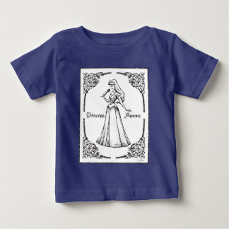 Sleeping Beauty | Aurora - Vintage Rose Baby T-Shirt