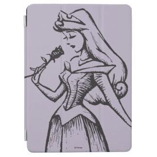 Sleeping Beauty   Aurora - Vintage Rose iPad Air Cover