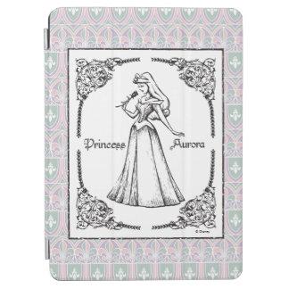 Sleeping Beauty | Aurora - Vintage Rose iPad Air Cover