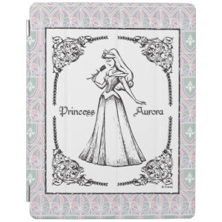 Sleeping Beauty | Aurora - Vintage Rose iPad Cover