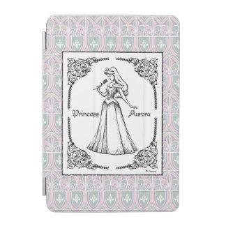 Sleeping Beauty   Aurora - Vintage Rose iPad Mini Cover