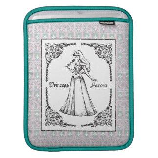Sleeping Beauty | Aurora - Vintage Rose iPad Sleeve