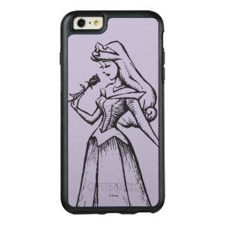 Sleeping Beauty | Aurora - Vintage Rose OtterBox iPhone 6/6s Plus Case