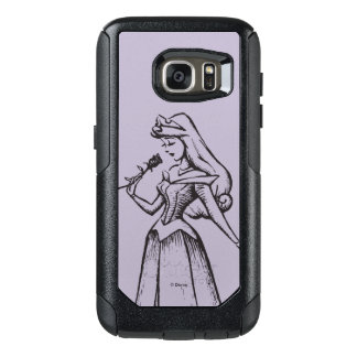 Sleeping Beauty | Aurora - Vintage Rose OtterBox Samsung Galaxy S7 Case