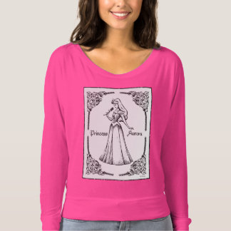 Sleeping Beauty | Aurora - Vintage Rose T-shirt