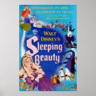 Sleeping Beauty Blue Poster