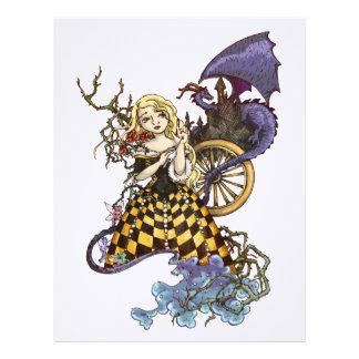 Sleeping Beauty Custom Letterhead
