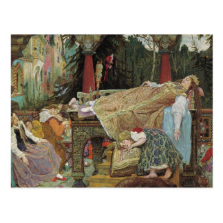 Sleeping Beauty in the Pavilion Postcard