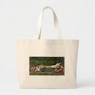 sleeping beauty large tote bag