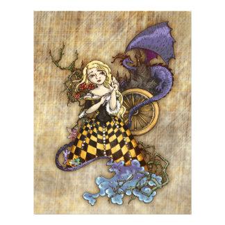 Sleeping Beauty Letterhead Template