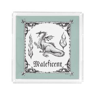 Sleeping Beauty   Maleficent Dragon - Gothic Acrylic Tray