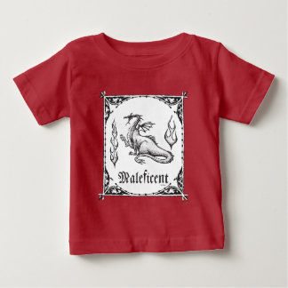 Sleeping Beauty | Maleficent Dragon - Gothic Baby T-Shirt