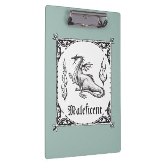 Sleeping Beauty | Maleficent Dragon - Gothic Clipboard