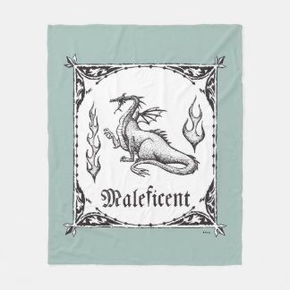 Sleeping Beauty | Maleficent Dragon - Gothic Fleece Blanket
