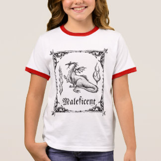 Sleeping Beauty | Maleficent Dragon - Gothic Ringer T-Shirt