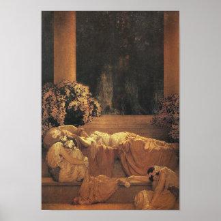 Sleeping Beauty, Maxfield Parrish Fine Art Poster