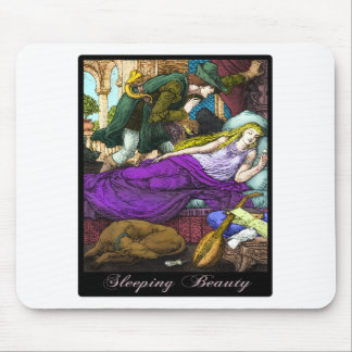 Sleeping Beauty Mouse Pad