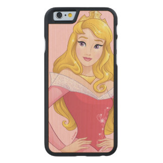 Sleeping Beauty | Princesses Rule! Carved Maple iPhone 6 Case
