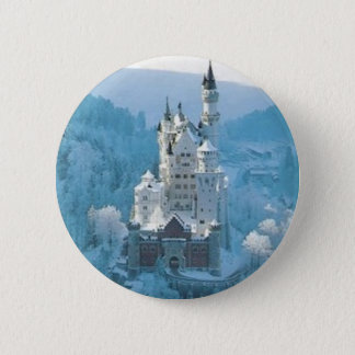 Sleeping Beauty's Castle 2 Inch Round Button