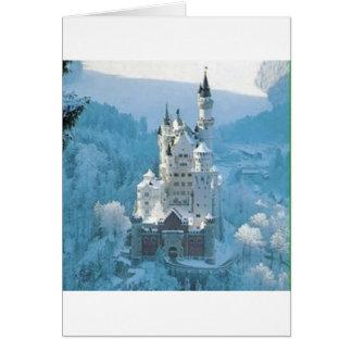 Sleeping Beauty's Castle Card