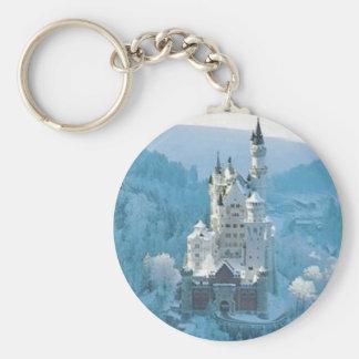 Sleeping Beauty's Castle Keychain