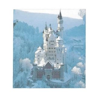 Sleeping Beauty's Castle Notepad