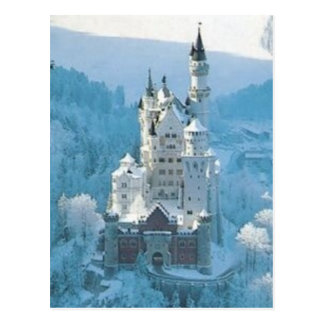 Sleeping Beauty's Castle Postcard