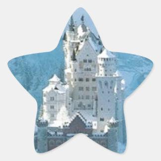 Sleeping Beauty's Castle Star Sticker
