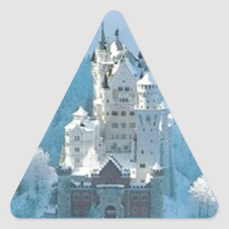 Sleeping Beauty's Castle Triangle Sticker