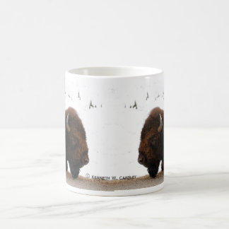 Sleeping Bison Mug